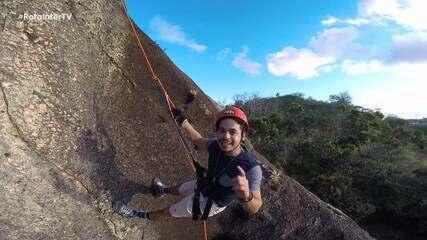 Rota em Serra de São Bento promete muita aventura e beleza natural