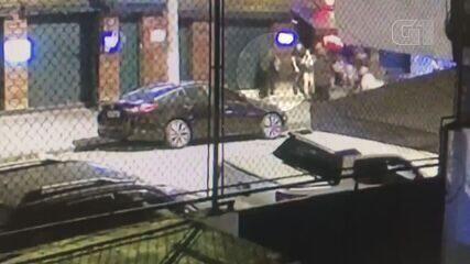 Polícia Civil divulga vídeo que mostra agressão a jovem em balada de Santos, SP