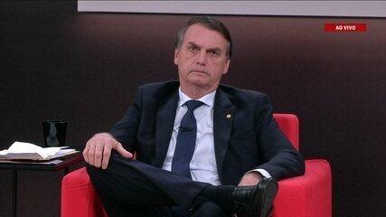 Central das Eleições: Veja a 1ª parte da entrevista com o candidato Jair Bolsonaro (PSL)