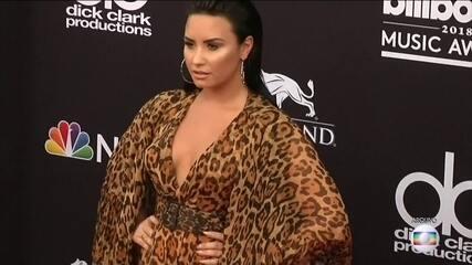 Demi Lovato fala pela primeira vez, depois de ser internada sob suspeita de overdose