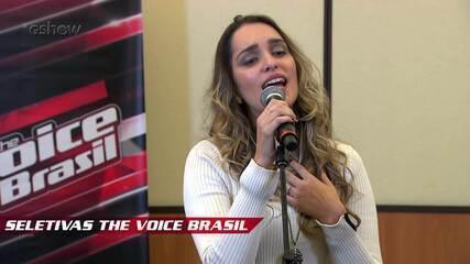 Confira vídeo exclusivo de Lais Yasmin na seletiva do The Voice Brasil