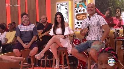 Simony, Mike e Tob comemoram 35 do programa