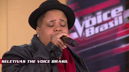 Confira vídeo exclusivo de Nina Black na seletiva do The Voice Brasil