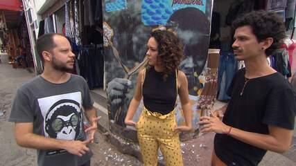Coletivo Psiu faz intervenções com arte e poesia nas ruas de Salvador