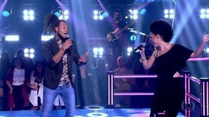 """LC Negão e Suelen Karine cantam """"1 Minuto"""""""