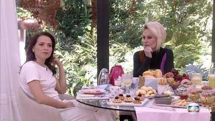 Letícia Colin fala da encrenca de Rosa com Laureta