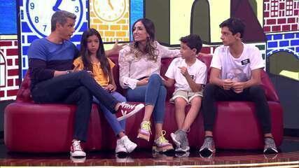 Marcio Garcia entrega os filhos: 'Eles não gostam de nenhuma regra'