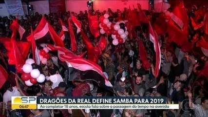 Dragões da Real define samba-enredo do Carnaval 2019