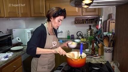 'Super Chef Celebridades': Françoise Forton diz que prepara receita de Ana Maria no Natal