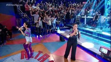 Simone & Simaria cantam 'Um em Um Milhão'