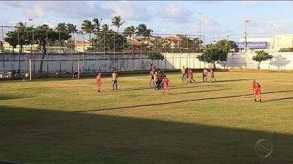 Aracaju e Barra jogaram pela Série A-2 do Campeonato Sergipano
