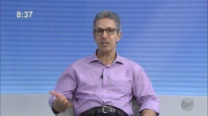 Candidato ao governo de MG, Romeu Zema (NOVO), fala sobre suas propostas ao EPTV 1