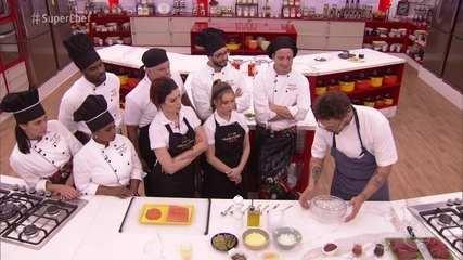Chef Fred Barroso faz workshop no 'Super Chef' e prepara receitas