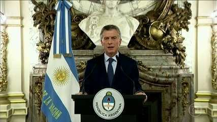 Mauricio Macri anuncia novas medidas de austeridade