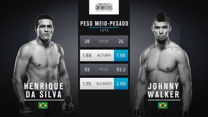 The Contender Series Brasil 1 - Henrique Da Silva x Johnny Walker