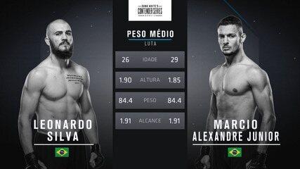 The Contender Series Brasil 1 - Leonardo Silva x Marcio Lyoto