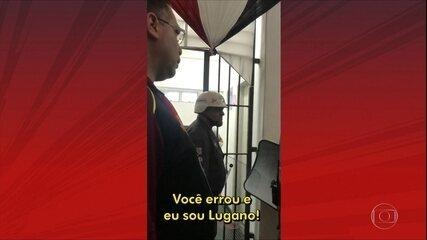 Lugano critica trio de arbitragem em São Paulo x Fluminense