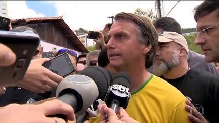 Jair Bolsonaro faz campanha na Zona da Mata Mineira nesta quinta-feira (06)