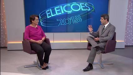 Eliana Pedrosa (PROS) é entrevistada no DF1