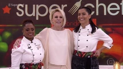 Ana Maria explica como será a grande final do 'Super Chef'