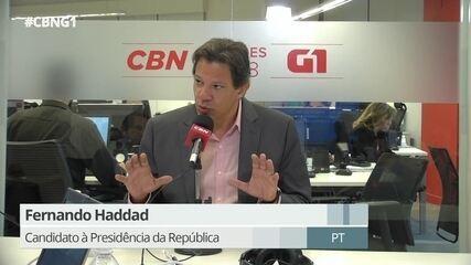 Haddad fala sobre política de controle de preços e corrupção na Petrobras