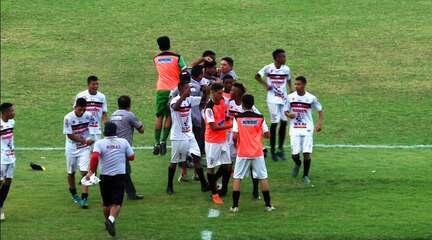 O gol de River-PI 1 x 0 Rei dos Reis pela segunda rodada do Piauiense Sub-17