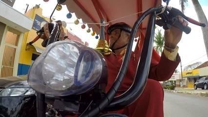 Bicicleta elétrica em Iacri