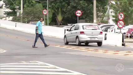 Imprudência coloca em risco vida de pedestres e ciclistas em Três Rios, RJ