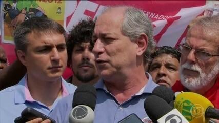 Ciro Gomes (PDT) faz campanha no estado do Rio de Janeiro