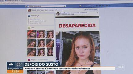 Jovem de 19 anos que estava desaparecida é encontrada na Itália