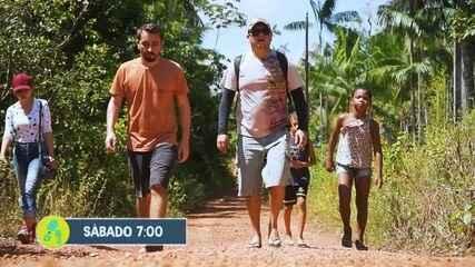Partiu visita Fortaleza de São José de Macapá e Ilha de Santana, no AP