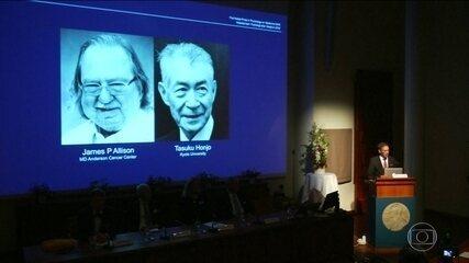 Dois cientistas ganham prêmio Nobel de Medicina por pesquisa sobre câncer