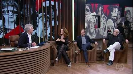 """Claudia Raia revela que ela e Ney Latorraca foram """"barrados"""" na escalação para o 'TV Pirata'"""