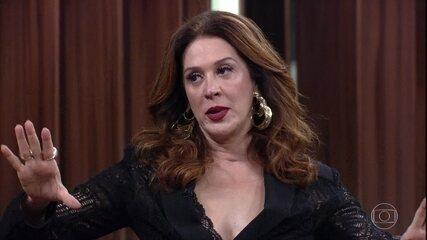 Claudia Raia revela que sugeriu um programa especial pelos 30 anos do 'TV Pirata'