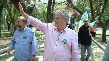 Candidato a presidência pelo PPL, João Goulart Filho, cumpre agenda no RS