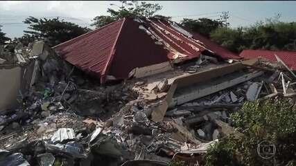 Mais de mil pessoas podem estar soterradas na Indonésia após terremoto e tsunami