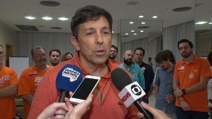 João Amoêdo fala de desempenho nas eleições e apoio no 2º turno