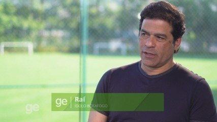 Botafogo-SP 100 anos - entrevista Raí: espaço no Santa Cruz para família