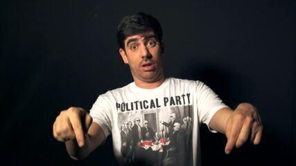 Adnet imita presidenciáveis para apresentar sua entrevista no 'Conversa com Bial'