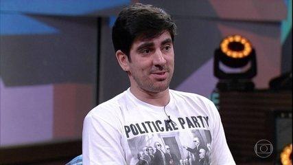 Marcelo Adnet afirma que o humor é democrático