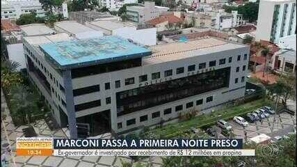 Marconi Perillo está detido na sede da Polícia Federal, em Goiânia