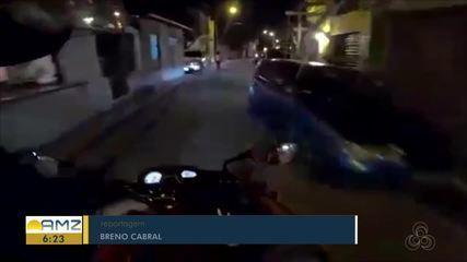 Homem é baleado durante briga de trânsito em Manaus