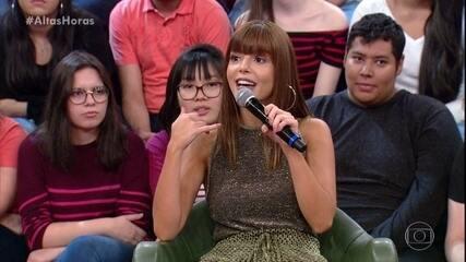 Giovanna conta que fez teste para Malhação e não passou