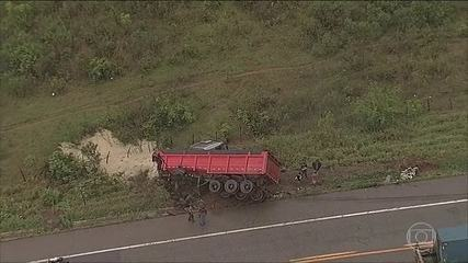 Acidente em estrada de Minas Gerais mata seis pessoas da mesma família