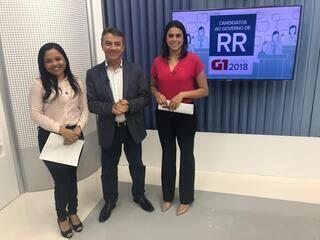 Antônio Denarium (PSL) é entrevistado no G1 Roraima