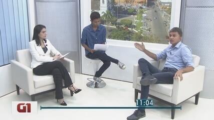 Candidato ao governo de RO, Expedito Junior (PSDB) é entrevistado no G1