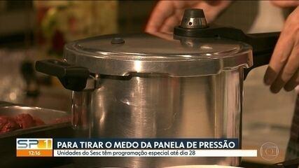 Exposição e atividades sobre alimentação movimentam unidades do Sesc na capital
