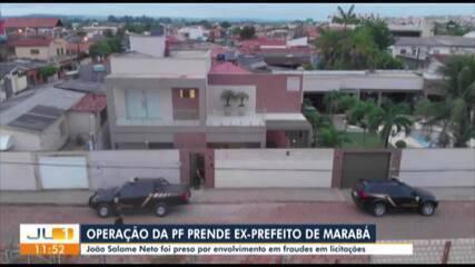 Ex-prefeito de Marabá é preso em operação da PF que apura que desviou mais de R$ 2 milhões