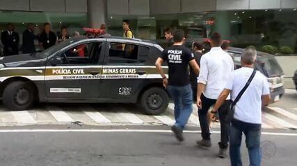 Troca de tiros entre policiais de SP e MG deixa um morto em anexo de hospital em JF