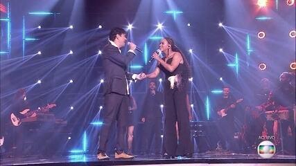 Jeniffer Nascimento canta 'Final Feliz' com Jorge Vercillo